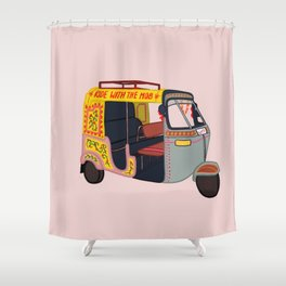 Ride with the Mob Shower Curtain