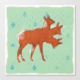 Trideer Canvas Print