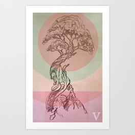tree3 Art Print