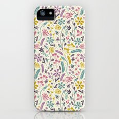 Retro Blooms (Candy) iPhone (5, 5s) Slim Case