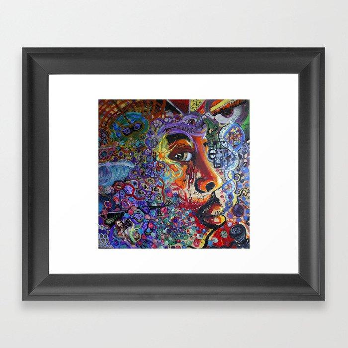 """""""Jones"""" Framed Art Print"""