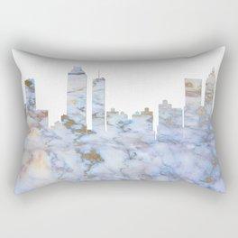 Atlanta Skyline Georgia Rectangular Pillow