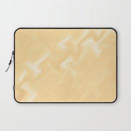 Snow Art 3 - Orange Laptop Sleeve