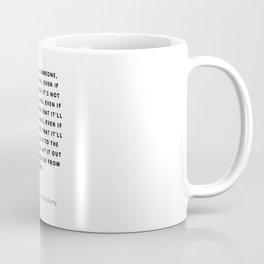 If you love someone, you tell them, Mark, Sloan, Greys Coffee Mug
