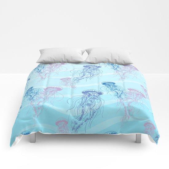 Marine Pattern 05 Comforters