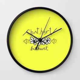Phonetically Butthurt Wall Clock