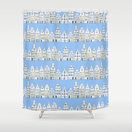 Amsterdam Canals Shower Curtain