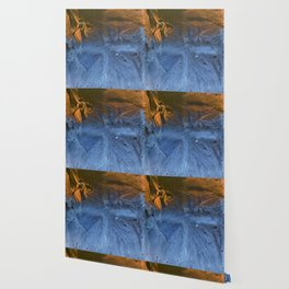 Ocean At Night Jean Copper Wallpaper