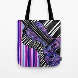 Study in the key of Purple - cello Tote Bag