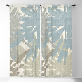 Beach Curry III Blackout Curtain
