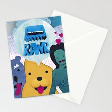 Rawr Returns! Stationery Cards
