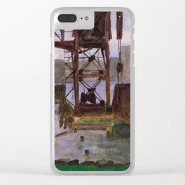 Sunken Landing Clear iPhone Case