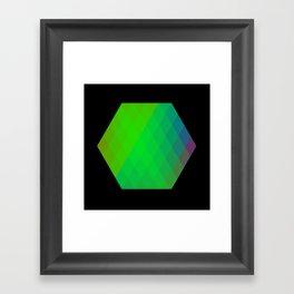 Hexagon? Framed Art Print
