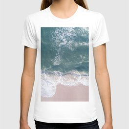 Sea Foam Drone View T-shirt