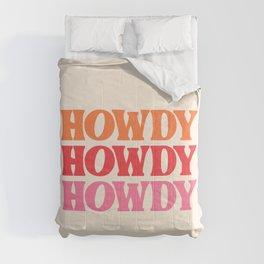 Howdy  Comforters