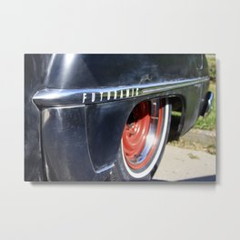 Futuramic Metal Print