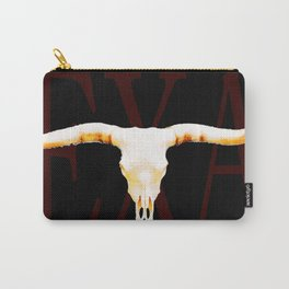 Texas Longhorns By Sharon Cummings Carry-All Pouch