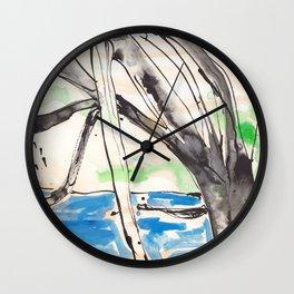 Ross River Rain Tree Wall Clock