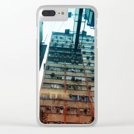 Kowloon Clear iPhone Case