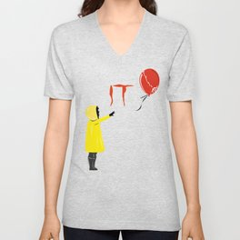 IT clown Pennywise Unisex V-Neck