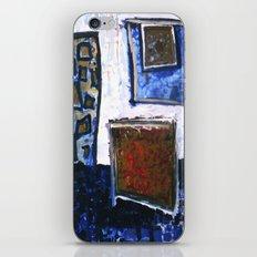 b o x i n g b l u e 1 iPhone & iPod Skin