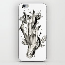 Flying Fishes Pets iPhone Skin