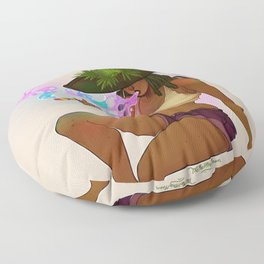 Weed Witch Floor Pillow