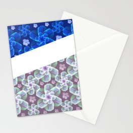 grace florals Stationery Cards