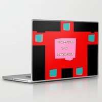 om Laptop & iPad Skins featuring OM by lucborell