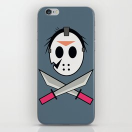 Jason Head iPhone Skin