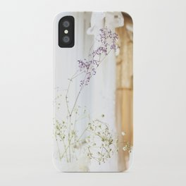 Flower and dresses iPhone Case