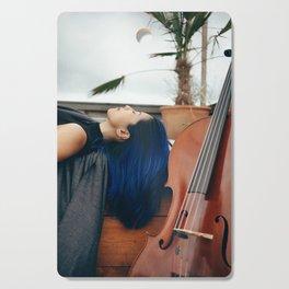Cello Music for Meditation Cutting Board