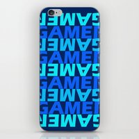 gamer iPhone & iPod Skins featuring Gamer by Joynisha Sumpter