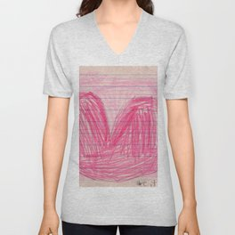 The Biggest Heart Unisex V-Neck