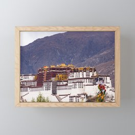 Tibet: Potala palace in Lhasa Framed Mini Art Print
