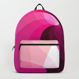Monochromatic red purple Backpack