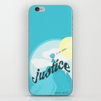 justice iPhone & iPod Skins featuring Justice !.. by Oblivion Creative