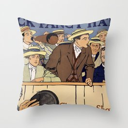Cheer up, show your colors Throw Pillow