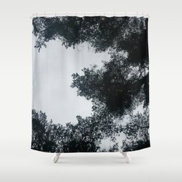 April Trees Shower Curtain