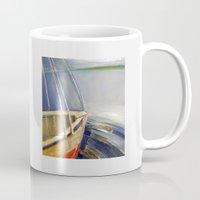 skyline Mugs featuring Skyline by Vilnis Klints