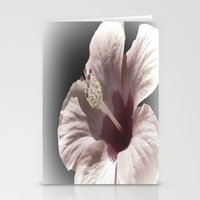 hibiscus Stationery Cards featuring Hibiscus by Lynn Bolt