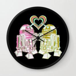 R2D2 DROID LOVE Wall Clock