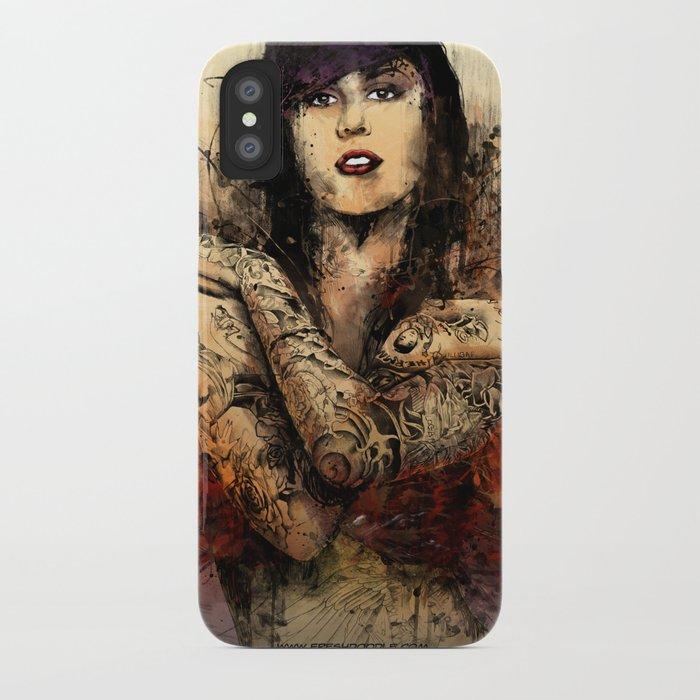 Kat Von D iPhone Case