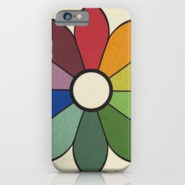 James Ward's Chromatic Circle (no background) iPhone Case