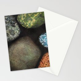 Particles and Pores Stationery Cards