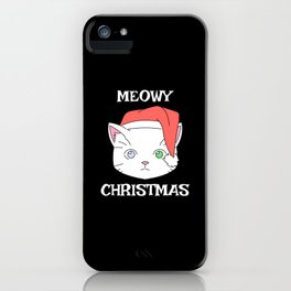 Christmas Gifts - Meowy Christmas iPhone Case