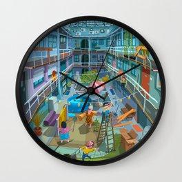 Budpapest bang summer Wall Clock