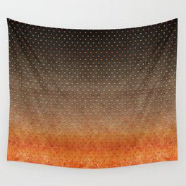 """Sabana Night Degraded Polka Dots"" Wall Tapestry"