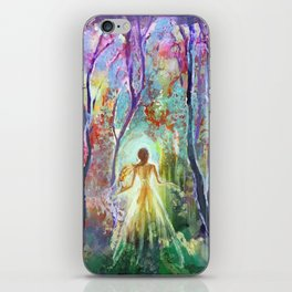 Dance of the Changing Leaves iPhone Skin