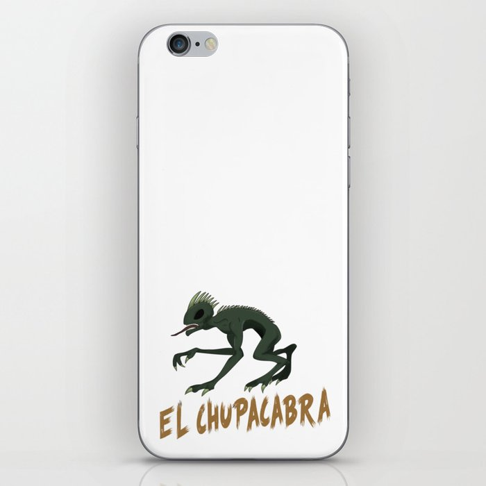 El Chupacabra iPhone Skin